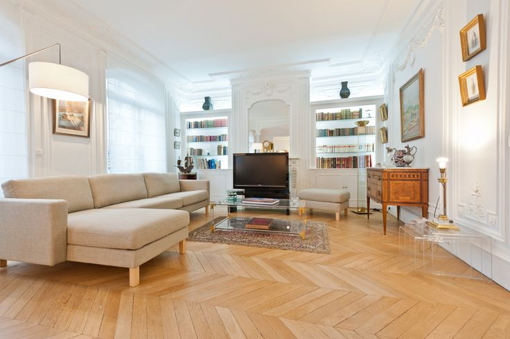 les 30 meilleures images du tableau appartement haussmannien sur pinterest. Black Bedroom Furniture Sets. Home Design Ideas