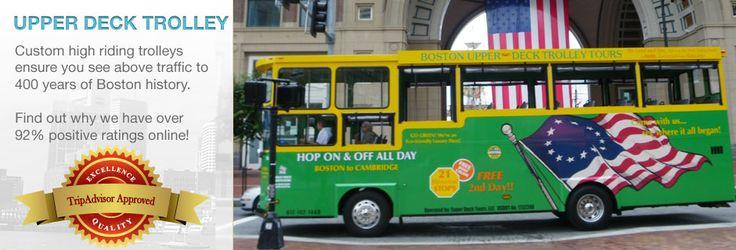 Boston Trolley Tours | Historic Boston Tours | Boston Super Tours