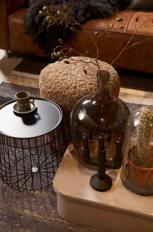 Industrial stijl studio eijerkamp wooninspiratie woontrends wooninterieur - Studio stijl glazen partitie ...