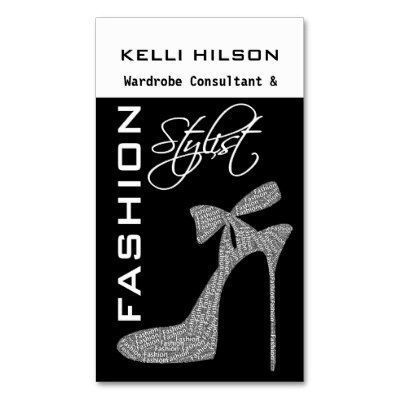 Fashion Stylist Business Cards Standard Business Cards Fashion Stylist Business Cards Fashion Stylist Business Cards by TrendyBusinessCard Look at other Fashion Business Cards at zazzle.com Fashion Stylist Business Cards by TrendyBusin...
