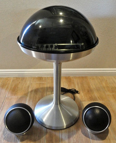 Any Electrohome domed space age record player, Apollo/Saturn models (circa 1968-1972)