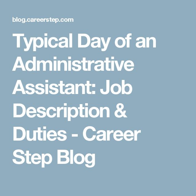 The 25+ best Administrative assistant job description ideas on - executive assistant job description