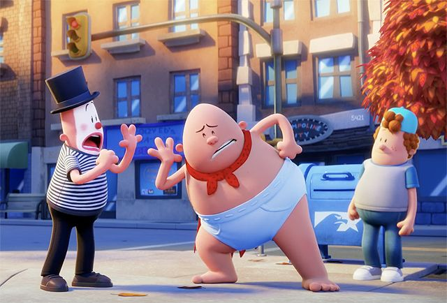 New Captain Underpants Movie Clip Features Oddball Heroics   New Captain Underpants movie clip features oddball heroics  DreamWorks Animation and 20th Century Fox have released the first clip fromthe upcoming Captain Underpants: The First Epic Movie! Check out the Captain Underpantsclip below!  RELATED:2017 Movie Images: Captain Underpants Coco and More  Based on the worldwide sensation and bestselling book series and boasting an A-list cast of comedy superstars headed by Kevin Hart and Ed…