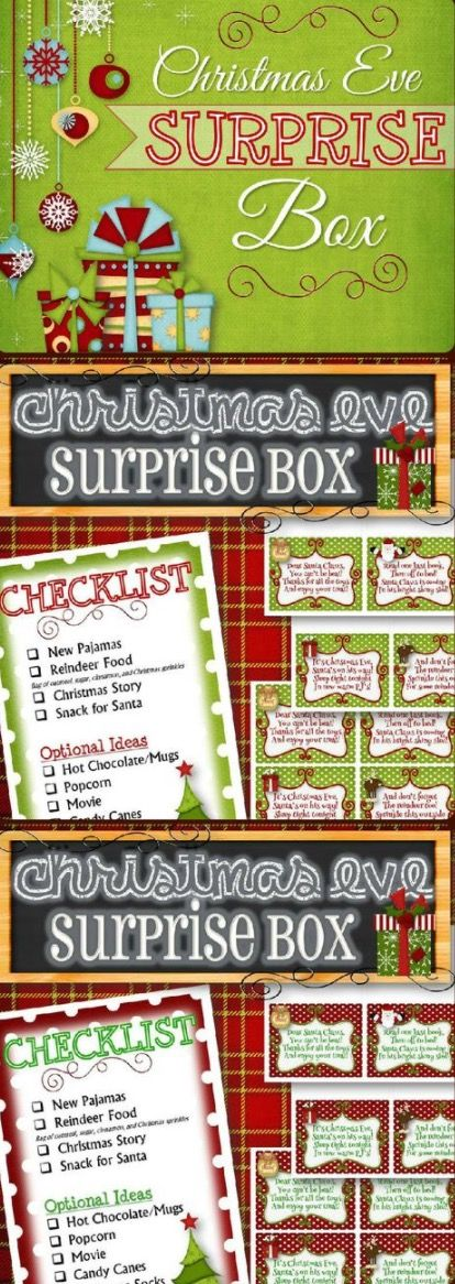 Night Before Christmas Box Start A Family Tradition | The WHOot