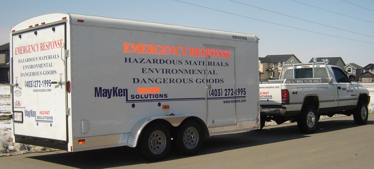 Hazardous spills & materials & the transport dangerous goods with Mayken right here in Calgary. http://www.mayken.com/hazardous-materials-cleaning/
