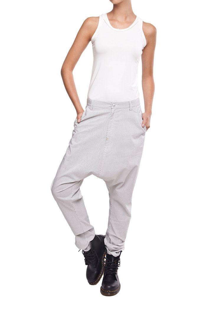 Spodnie z obniżonym stanem | Ubrania \ Spodnie \ Długie PROJEKTANCI \ Laboratorium/35 Ubrania \ Wszystkie ubrania Ubrania \ WIĘKSZE ROZMIARY Spodnie | MOSTRAMI.PL