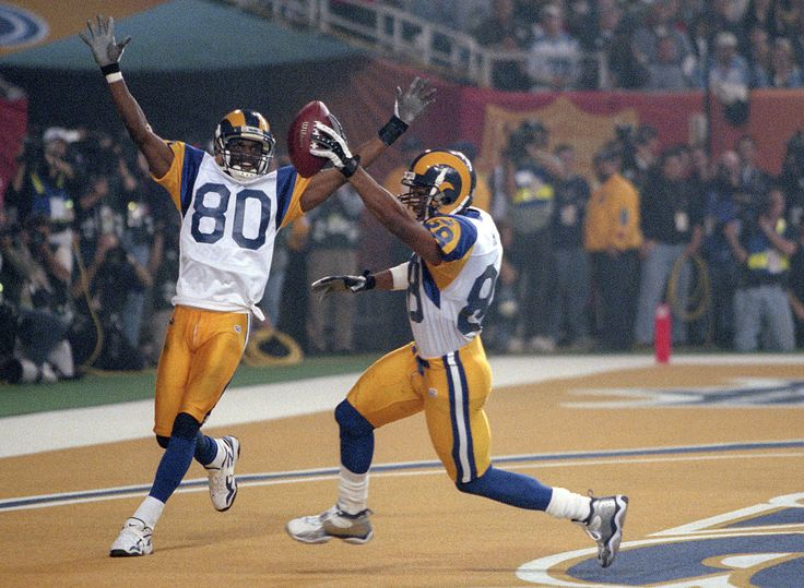Isaac Bruce and Torry Holt, St. Louis Rams