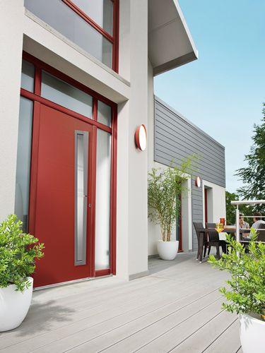 Porte d'entrée aluminium Bel'M, modèle Chrystal