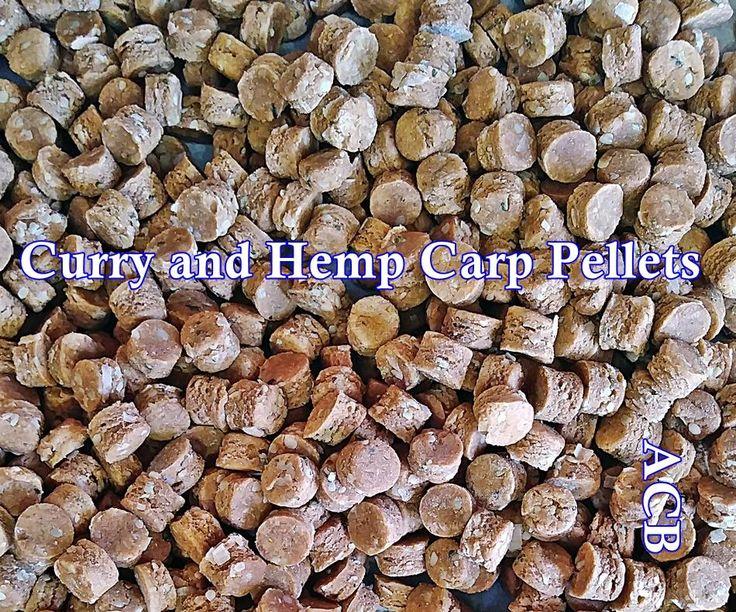 Curry Hemp Carp Fishing Pellets-Pellets For Carp Fishing