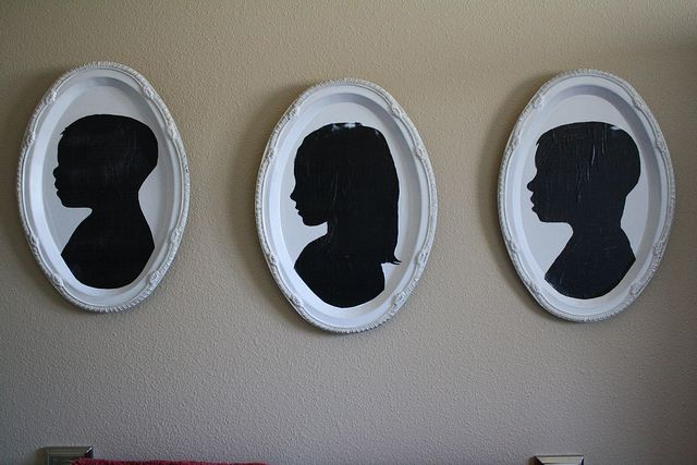 Silhouette Tutorial by 3 Four and Under, via Flickr: Silhouette Projects, Silhouette Art, Crafts Ideas, Mothers Day Gifts, Gifts Ideas, Silhouette Pictures, Silhouette Portraits, Silhouette Tutorials, Christmas Gifts