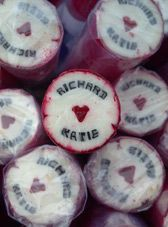 Personalised Wedding Rock Favours, Wedding Confectionery & Place Settings - The Rock People