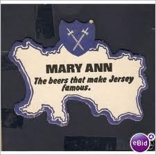 Mary Ann beer, Jersey, Channel Islands.