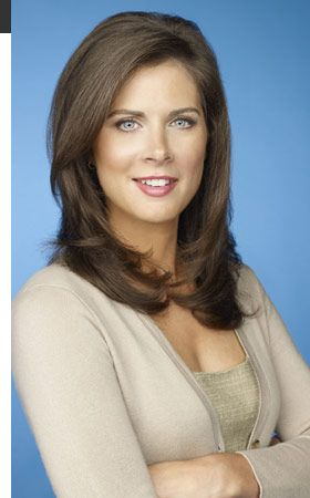 "Erin Burnett is smart, globally savvy, and delightfully engaging with the people she interviews. I really like her spunk, sense of humor and ""grace under fire."" (And, hey, it doesn't hurt that she played field hockey during college.)"