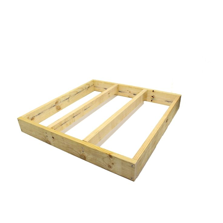 Good Times 1116 x 1116 x 140mm Modular Decking Base Frame Kit