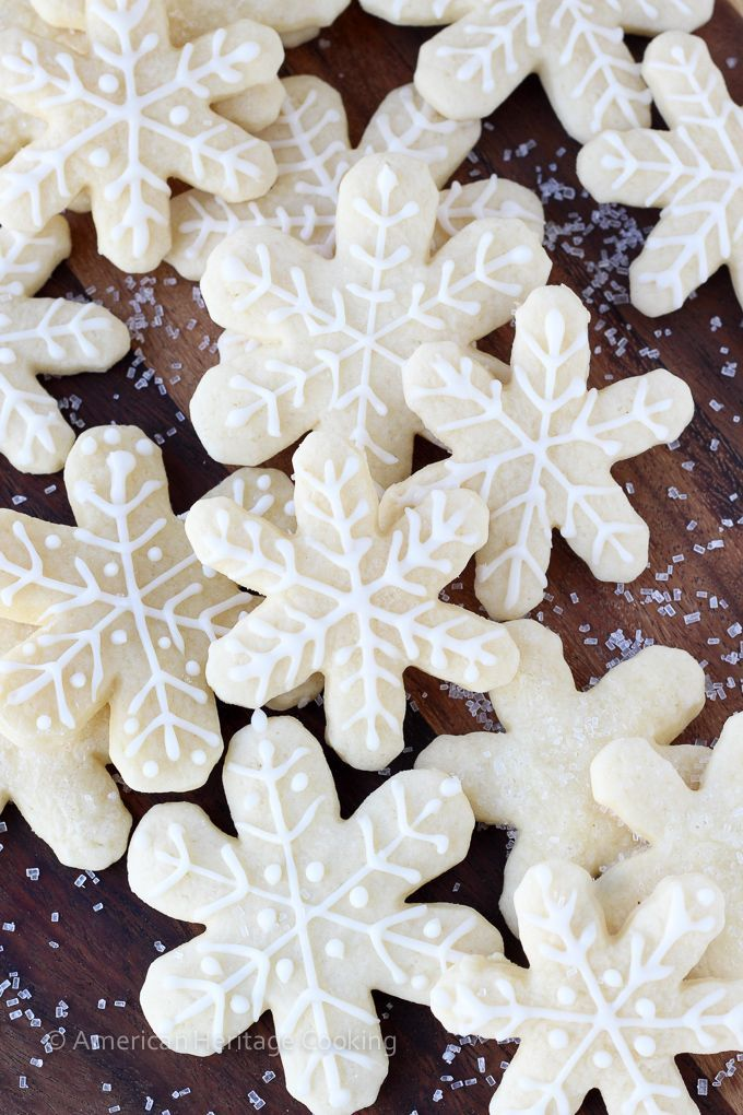 My Grandmas Old Fashioned Soft Sugar Cookies are pillowy soft with just a hint of vanilla! The easiest rolled cookie recipe that I've made!