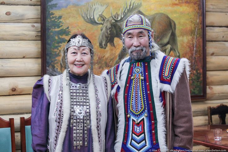 Yakuts (Sakha: Саха, Sakha), are a Turkic people who mainly inhabit the Sakha (Yakutia) Republic (Russian Frderation). The Yakuts are divided into two basic groups based on geography and economics. Yakuts in the north are historically semi-nomadic hunters, fishermen, reindeer breeders, while southern Yakuts engage in animal husbandry focusing on horses and cattle.