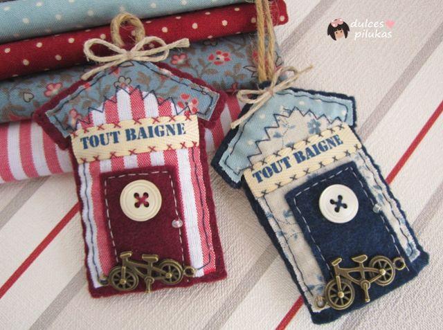 dulces pilukas: Casitas de baño