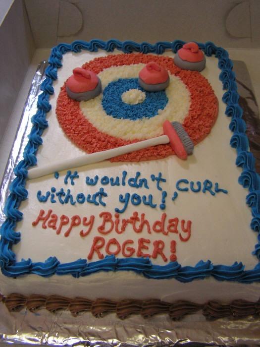 curling cake :p