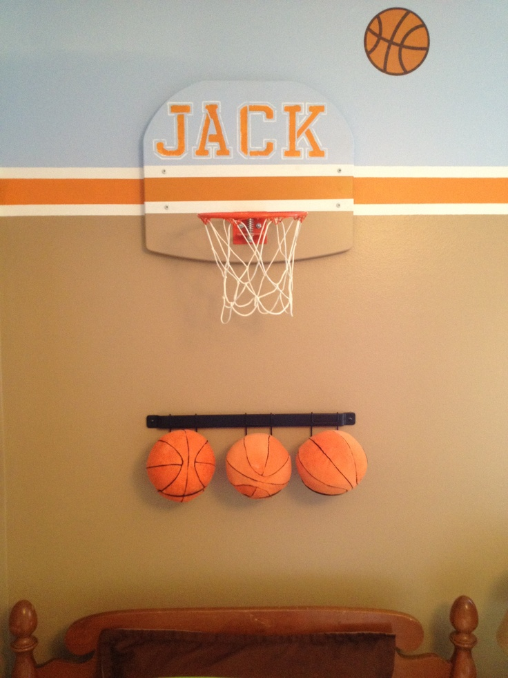 197 best boys basketball room images on pinterest boys for Basketball hoop for kids room