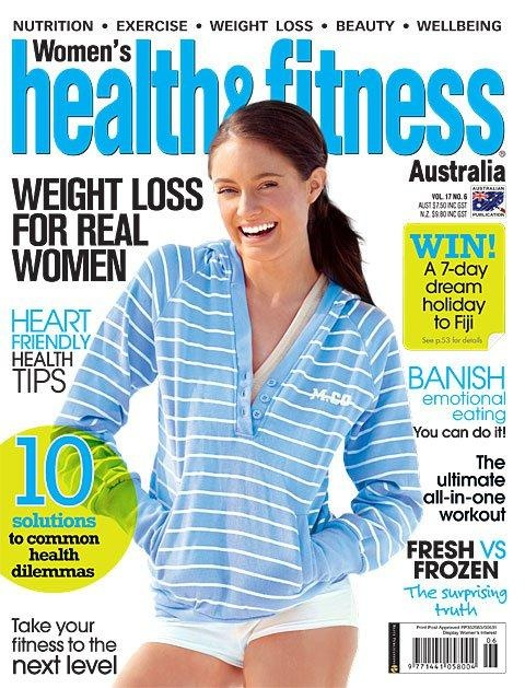 My article in 'Women's Health & Fitness' magazine: Being Left-handed