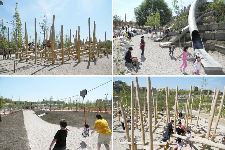 Bdu - Parque de Arganzuela, Madrid #bdu #madrid #proyectos #juegos #juegosinfantiles #niños