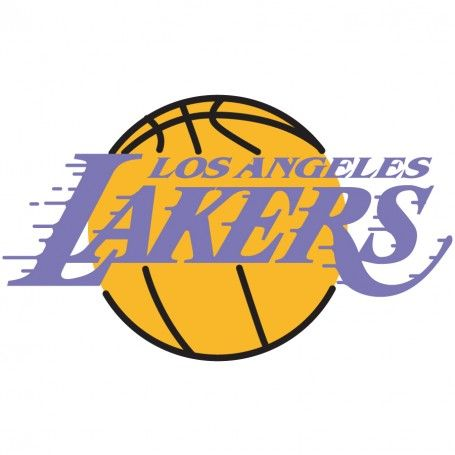 Los angeles lakers logo wall decal old school nba logos for Laker tattoo designs