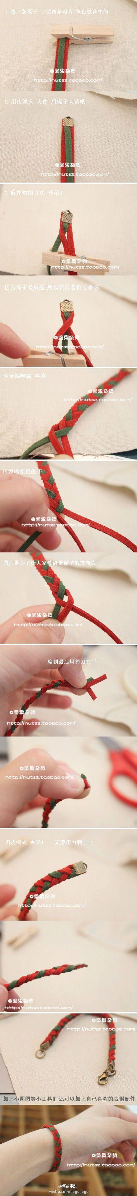 DIY Easy Rope Bracelet