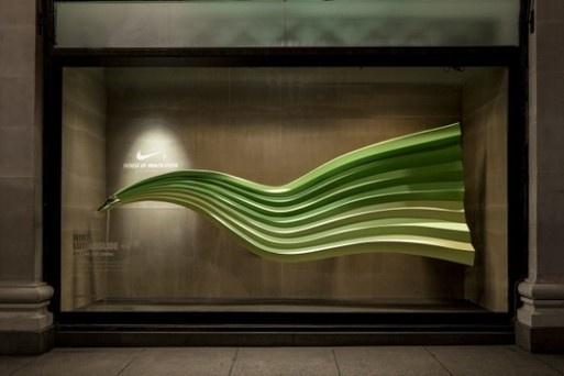 Série de vitrines interactives pour Nike