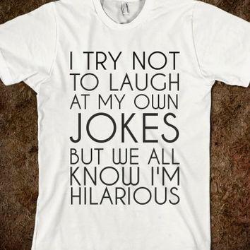 Supermarket: My Jokes from Glamfoxx Shirts