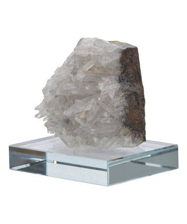 This Gray Quartz Table Décor is perfect! #zulilyfinds