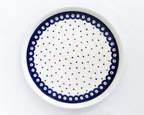 Serving Plate #PotteryCorner #Boleslawiec #Polishpottery #plates