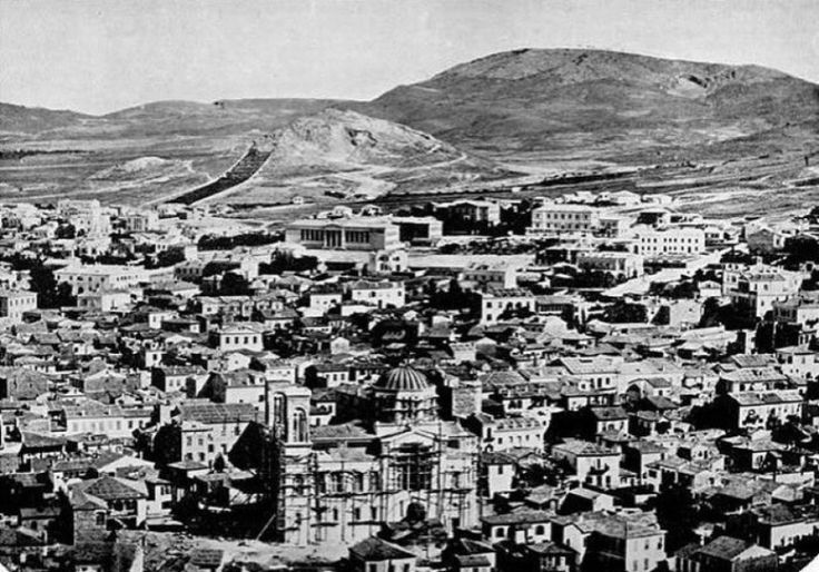Athens, Greece – 1860 - 18 Cities That Have Changed Beyond Recognition Best of Web Shrine