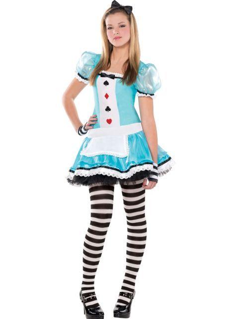Teen Girls Clever Alice Costume