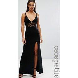 Vestito lungo nero scollato dietro le