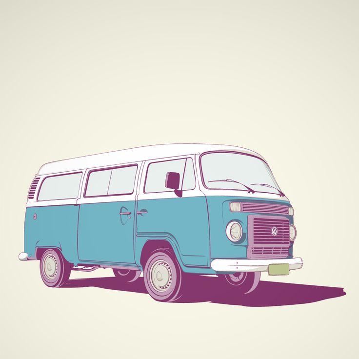 VW Combi - by Craniodesign