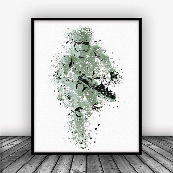 Star Wars Stormtrooper Art Print by Carma Zoe From $10.00