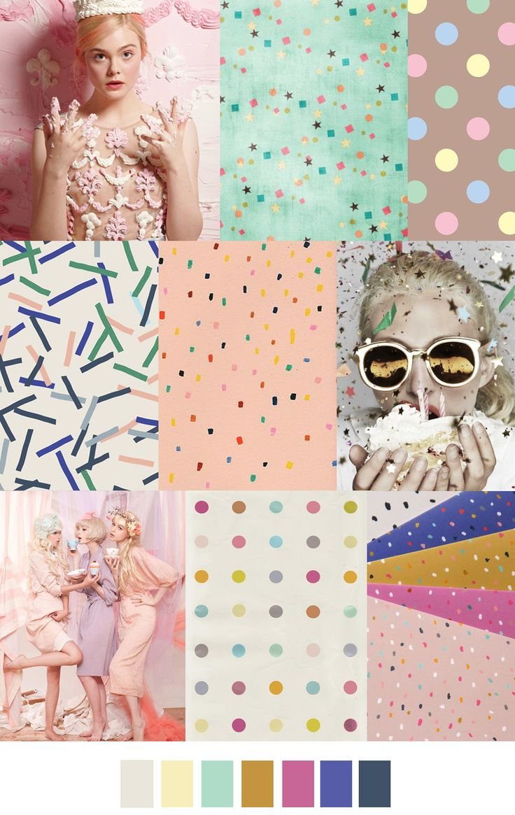 Let Them Eat Cake | PatternCurator | Style Color Palettes | Colour | Fashion Color Palettes | Mood Boards | Color Inspiration | Personal Style Online | Online Fashion Stylist | Fashion For Working Moms & Mompreneurs