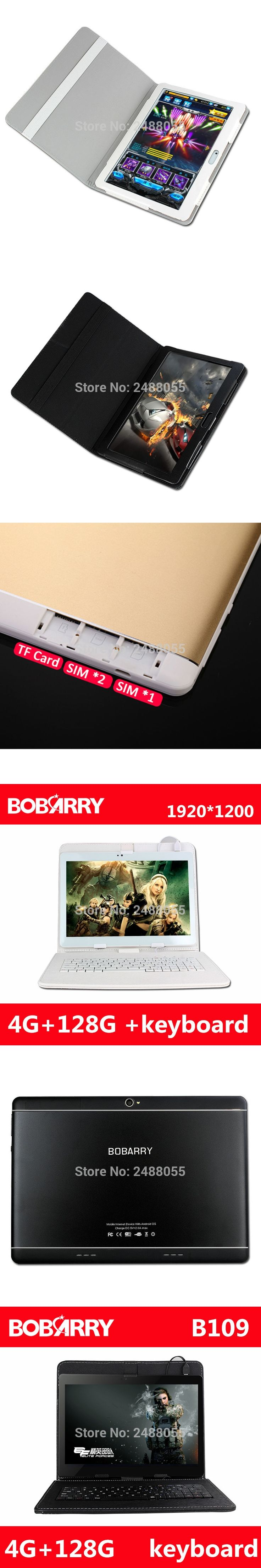 NEW 10.1 inch Tablet PC 1200*1920 IPS 4GB Ram 128GB Rom Dual Camera GPS Dual 4G Tablets Phone Android 6.0 MTK MT8752 Octa Core