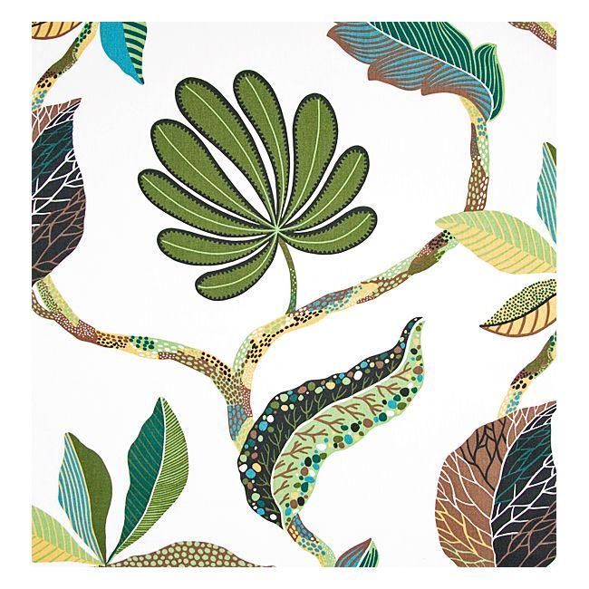 Tahiti Grön Möbeltyg