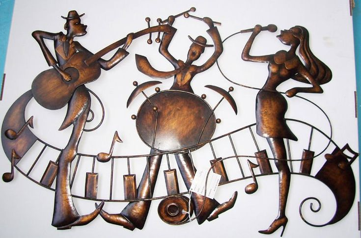 22 best Jazz wall sculpture by Sculptures Direct images on ...