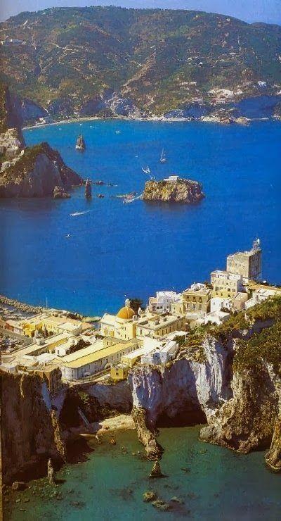 Ponza Island, Lazio, Italy