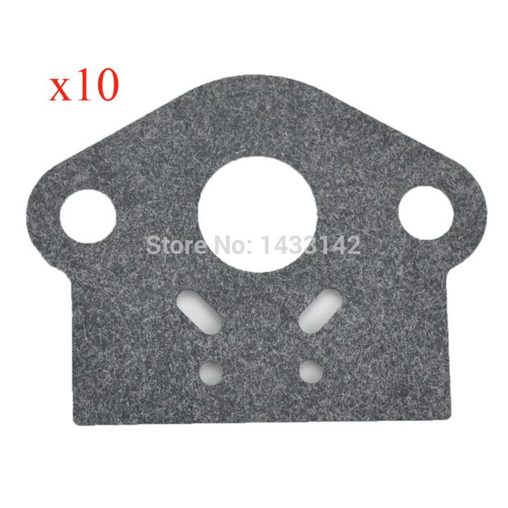 10Pcs Carburetor Carburador Gasket Fit ZAMA RB-K66A RB-K70A RBK66B RB-K75 RB-K106 RB-K112 Lown MOwer Blowers Trimmers Parts