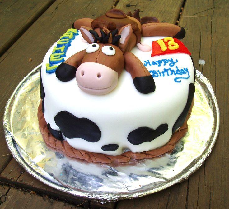 Toy Story Quot Bullseye Quot Horse Cake My Cakes Pinterest