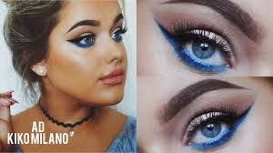 Hasil gambar untuk blue eyeshadow kiko milano