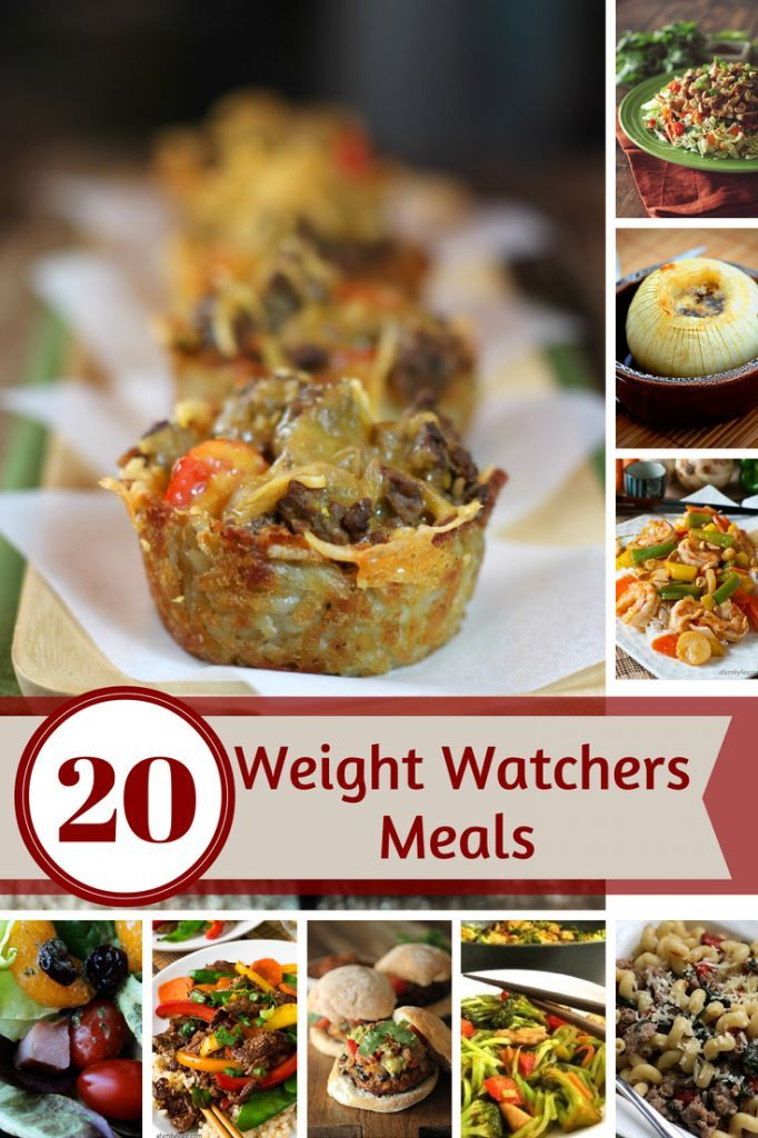 Looking for some great new Weight Watcher recipes? We've rounded up a great collection of Weight Watcher meal ideas you won't want to miss.
