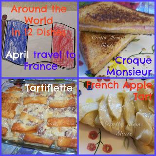 Crafty Moms Share: A Day in France--Around the World in 12 Dishes