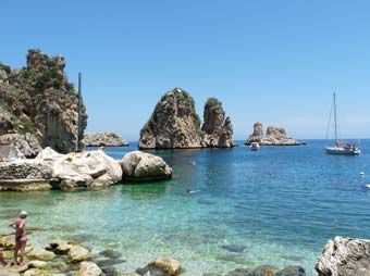 Zingaro Nature Reserve, Scopello, Sicilia.