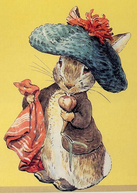 Beatrix Potter by Gatochy, via Flickr