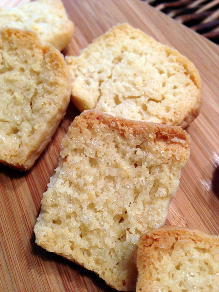 Buttermilk Biscuits  (scones buttered & toasted... )