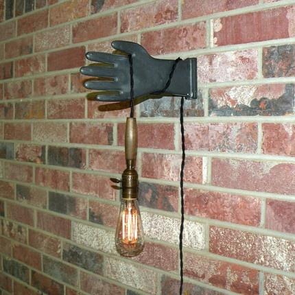 Vintage minimalist Portable lamp